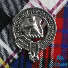 Clan Hunter Scottish Clan Crest Cap Badge *New* Scottish Clans Tartans Kilts Crests and Gifts