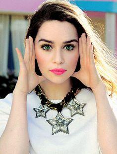 Emilia Clarke for Glamour France