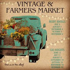 THIS WEEKEND'S MARKET  New! Vintage & Farmers Market   Uptown Village Market is proud   to announce the Grand Opening Vintage and Farmers Market!   Cal Heights 2nd Saturday - 12-6 pm June 13th Wardlow Rd. & Lemon Ave., Long Beach