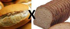 Obesidade na Mídia: Pão francês X Pão integral