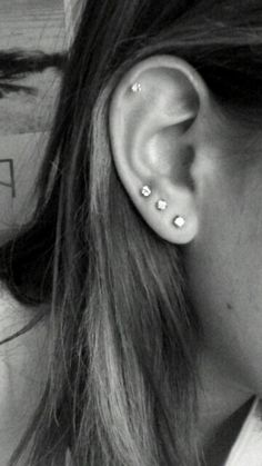 Earpiercings triple lobe piecing what else should I get?