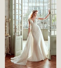 Fashion bride 2017 - Collection NICOLE.  NIAB17076. Wedding Dress Nicole.