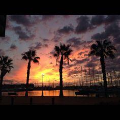 Sunrise in Alicante Alicante, Sunrises, Celestial, Photography, Life, Outdoor, Happy Wednesday, Dawn, October