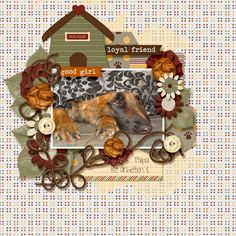 WoofWoof Papers by BlueHeartScraps http://store.gingerscraps.net/Woof-Woof-Paper-Pack.html WoofWoof Elements by BlueHeartScraps http://store.gingerscraps.net/Woof-Woof-Element-Pack.html FamilyMatters Elements by InspiredDesigns http://store.gingerscraps.net/FAMILY-MATTERS-Elements.html AutumnWoods Templates by Dagi´s temp-Tation http://store.gingerscraps.net/Autumn-Woods.html Photo by kpmelly