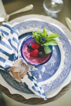 Blueberry Froyo recipe.