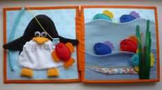 AWww, i love penguins! Quiet book Page Fish/penguins. Kнижка для львенка Кирюши! - Сообщество «Рукоделие» / Рукоделие