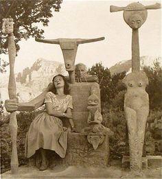Max Ernst e Dorothea Tanning a Sedona, Arizona, 1948