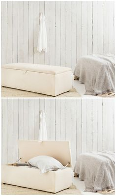 Our Primrose Blanket Box provides any bedroom or living room with a sleek, minimalist but elegantly stylish addition.