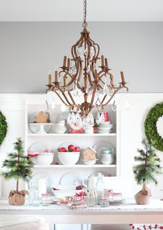 Hello again friends. I'm honoured you've dropped by as I join some of my friends in The Cherished Christmas Home Tours with Country Living Magazine. This tour is being hosted by my dear friend Ashl. Pastel Home Decor, Diy Home Decor, Pastel House, Country Living Magazine, Cozy Christmas, Christmas 2015, Scandinavian Christmas, Simple Christmas, Christmas Ideas