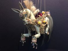 Marionette Horse from Burma Myanmar by EthnicArtandJewelry on Etsy, $339.95
