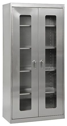 """Clear View 36"""" Storage Cabinet"""