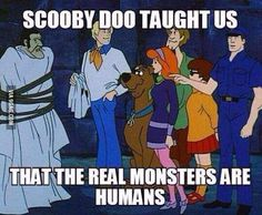 What Scooby Doo taught us