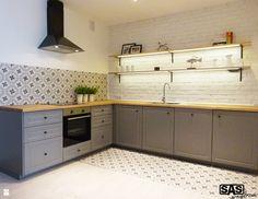 Kuchnia styl Skandynawski - zdjęcie od SAS Wnętrza - Kuchnia - Styl Skandynawski - SAS Wnętrza Kitchen Furniture, House Design, Kitchen Cabinets, Decor, Beautiful Homes, Kitchen, Home, Interior, Home Decor