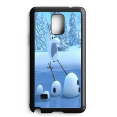 Funny Olaf In Pieces Samsung Galaxy Note 5 Edge Case