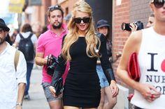 La mitica Paris Hilton #followgrazia http://www.grazia.it/moda/streetstyle/new-york-street-style-fashion-week-sept-2013