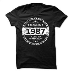 MADE IN 1987 AGED TO PERFECTION CIRCLE - #hipster tee #tshirt painting. GET YOURS => https://www.sunfrog.com/Birth-Years/MADE-IN-1987-AGED-TO-PERFECTION-CIRCLE.html?68278