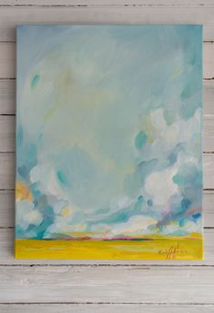 An original landscape painting by Emily Jeffords.