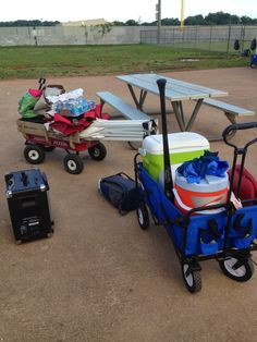 Sports Momma Goddesses: Things you need for hot baseball tournaments