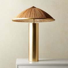 Solana Cone Table Lamp | CB2 Sofa Side Table, A Table, White Lacquer Desk, Contemporary Table Lamps, Modern Table, Glass Floor Lamp, Concrete Table, Globe Lamps, Black Table Lamps
