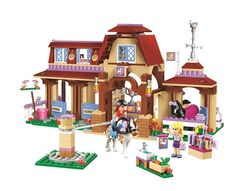 34.19$  Buy here - http://airx7.worlditems.win/all/product.php?id=32800543863 - BELA Friends Series Heartlake Riding Club Building Blocks Classic For Girl Kids Model Toys Marvel Compatible Legoe