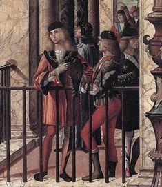 Venice, The Republic of Venice Vittore Carpaccio, c1496: Arrival of the English Ambassadors (Detail 1) Venice, Galleria dell' Accademia