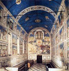 interno della La Cappella degli Scrovegni