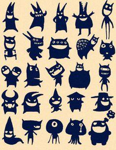好多小怪兽...来自JODIE蔡的图片分享-堆糖