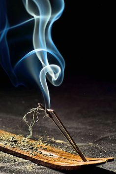 #incense. I love incense. When you stare at the smoke it is neat. The Incensewoman