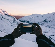Snagging a few shots before the sun disappears below the mountains. by heyimchandler