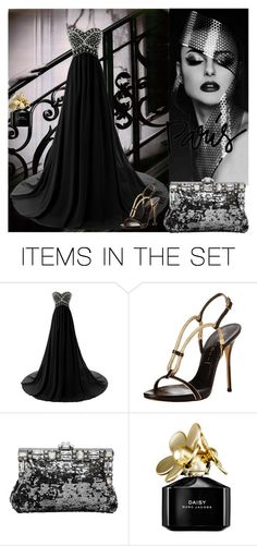 """""""Black"""" by chateaubeau ❤ liked on Polyvore featuring arte"""