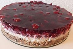 Prinzenrolle – pie with cherries, a delicious recipe from the category fruit. Ratings: Average: Ø Prinzenrolle – Torte mit Kirschen Baking Recipes, Cookie Recipes, Dessert Recipes, Pie Recipes, Food Cakes, Torte Au Chocolat, German Baking, Fall Desserts, Ice Cream Recipes