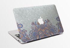Macbook Decal / Creative Sticker for Computer / Nature Motives Design / Apple Logo 703.215