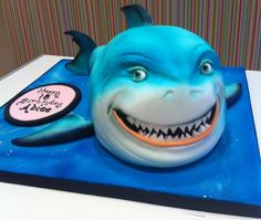 Bruce The Shark Cake made by Richard's Cakes