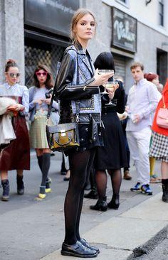 streetbymodels: the—one: Tilda lindstam