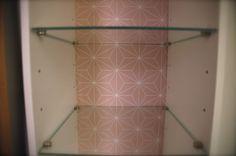 DIY Bathroom Ikeahack Selvlaget Tapet