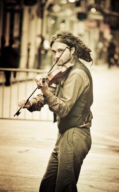 Street Musician, New Orleans.