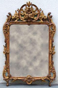 18th c Louis XV Mirror France