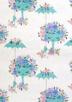 Vintage Hallmark Baby Shower Gift Wrap For Baby GIRL 1960s DIAPER PINS Wrapping Paper