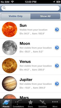Star & Planet Finder App- free