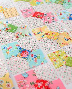 Resplendent Sew A Block Quilt Ideas. Magnificent Sew A Block Quilt Ideas. Vintage Quilts Patterns, Scrap Quilt Patterns, Patchwork Quilting, Vintage Fabrics, Quilting Tutorials, Quilting Projects, Quilting Designs, Charm Pack Quilts, Charm Quilt