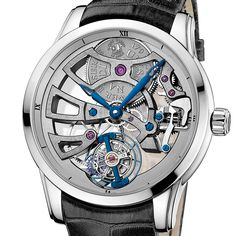 Ulysse Nardin the Skeleton Tourbillon Manufacture  The Skeleton Tourbillon Manufacture celebrates the interplay of light and innovation (See more at En/Fr/Es: http://watchmobile7.com/articles/ulysse-nardin-skeleton-tourbillon-manufacture) #watches #montres #relojes #ulyssenardin