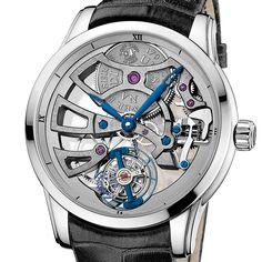 Ulysse Nardin the Skeleton Tourbillon Manufacture  The Skeleton Tourbillon Manufacture celebrates the interplay of light and innovation (See more at En/Fr/Es: http://watchmobile7.com/articles/ulysse-nardin-skeleton-tourbillon-manufacture) #watches #montres #relojes #ulyssenardin