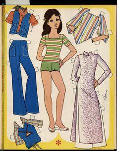 (⑅ ॣ•͈ᴗ•͈ ॣ)                                                                 ✄Mujeres 2013 - Soboleva Irina - Picasa Web Albums Paper Clothes, Doll Clothes, Kawaii Doodles, Paper Dolls Printable, Christmas Paper Crafts, Journal Paper, Barbie Accessories, Vintage Paper Dolls, Retro Toys