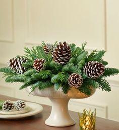 Christmas Weddings Centerpiece | Christmas Wreaths and Centerpieces, - options for wedding centerpieces                                                                                                                                                                                 More
