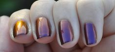 Polish Me Silly - Vixen. This is three coats alone.