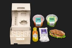 Complete Lunch Kits : Portable Lunch Box
