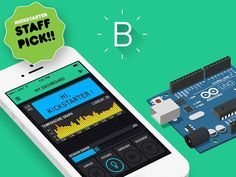 Pasha Baiborodin is raising funds for Blynk - build an app for your Arduino project in 5 minutes on Kickstarter! Platform with iOs and Android apps to control Arduino, Raspberry Pi and similar microcontroller boards over Internet. Diy Electronics, Electronics Projects, Microcontroller Board, Arduino Uno, Digital Dashboard, Smartphone, Raspberry Pi Projects, Build An App, Development Board
