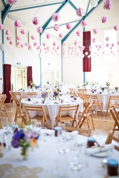 Great ideas for decorating marquees and village halls. To have and to hold: a DIY-filled day in Dorset - Summer weddings - YouAndYourWedding
