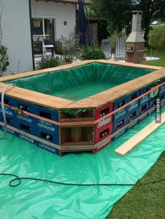 homemade 2 man pontoon boat quest - iboats boating forums ... - Garten Ideen Mit Pool
