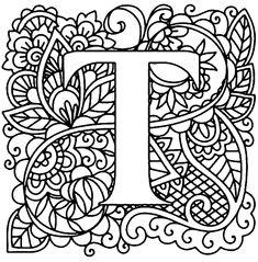 Алфавит для монограмм